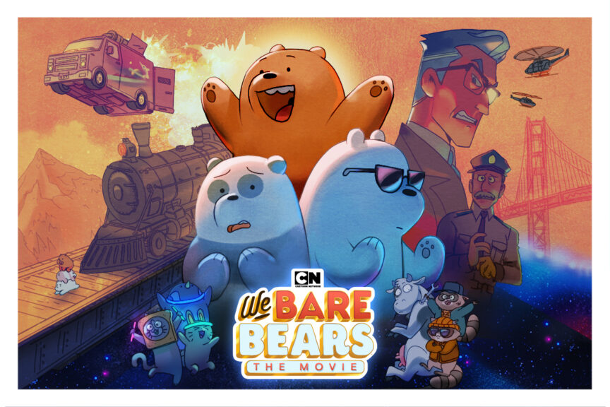 Watch Us React To The We Bare Bears Movie Trailer