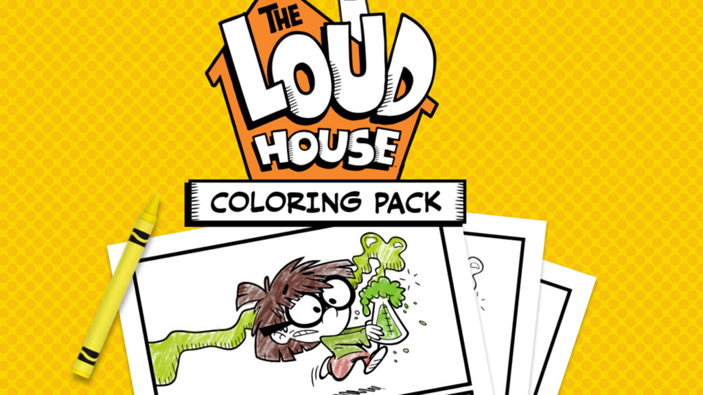 Free Printable Coloring Pages Inspired By The Loud House Show