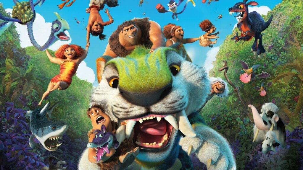 Enter To Win A Copy Of The Croods New Age Movie On Blu-Ray + A Cute Plushie