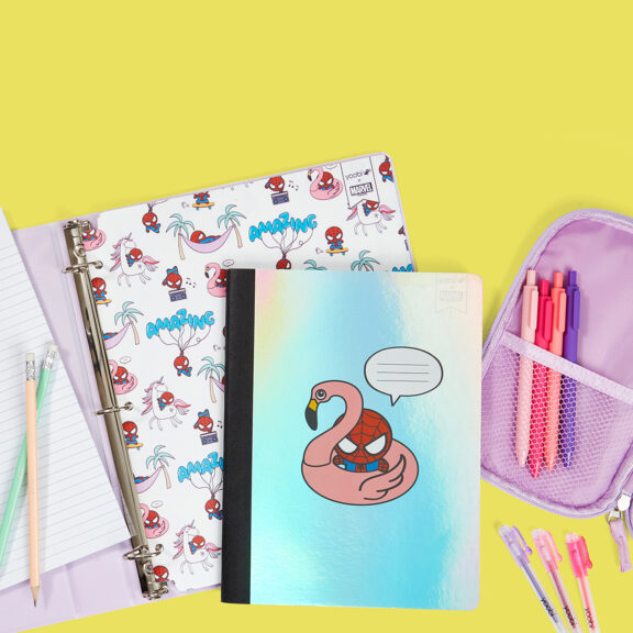 Is It Too Early To Geek Out About Yoobi x Marvel's New Back-to-School Collection?